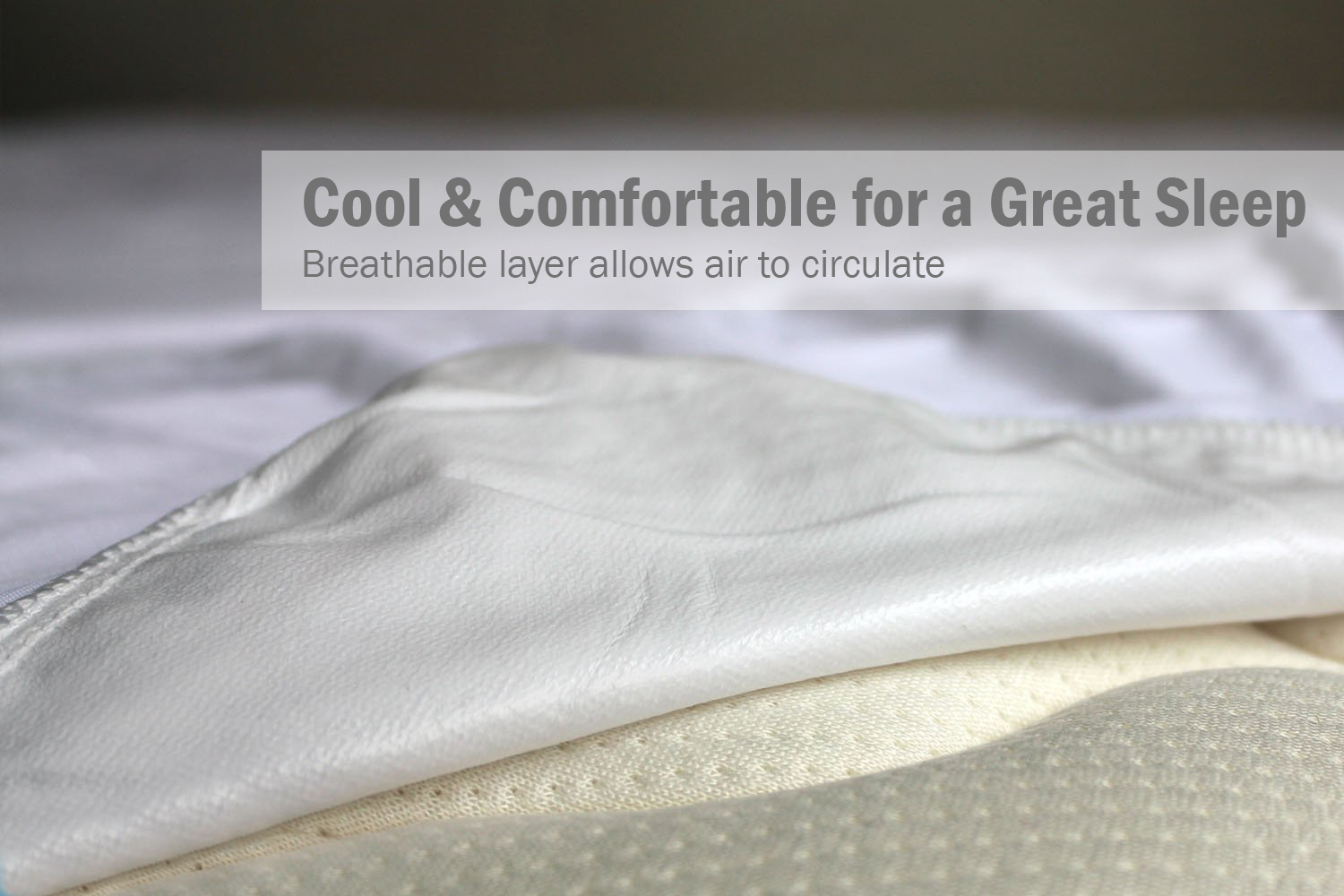 breathable crib mattress cover