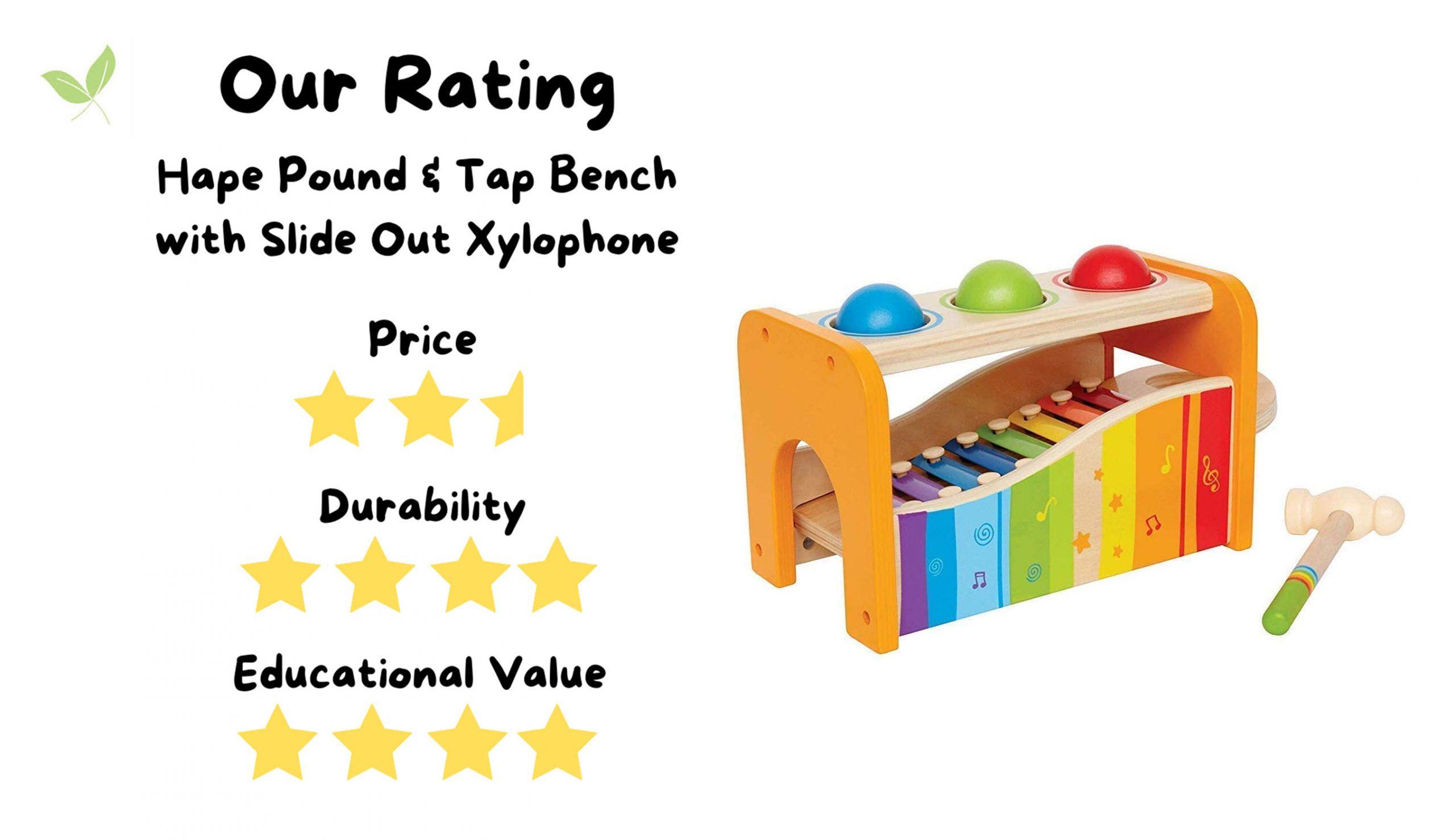 Stuff4Tots Hape xylophone Rating