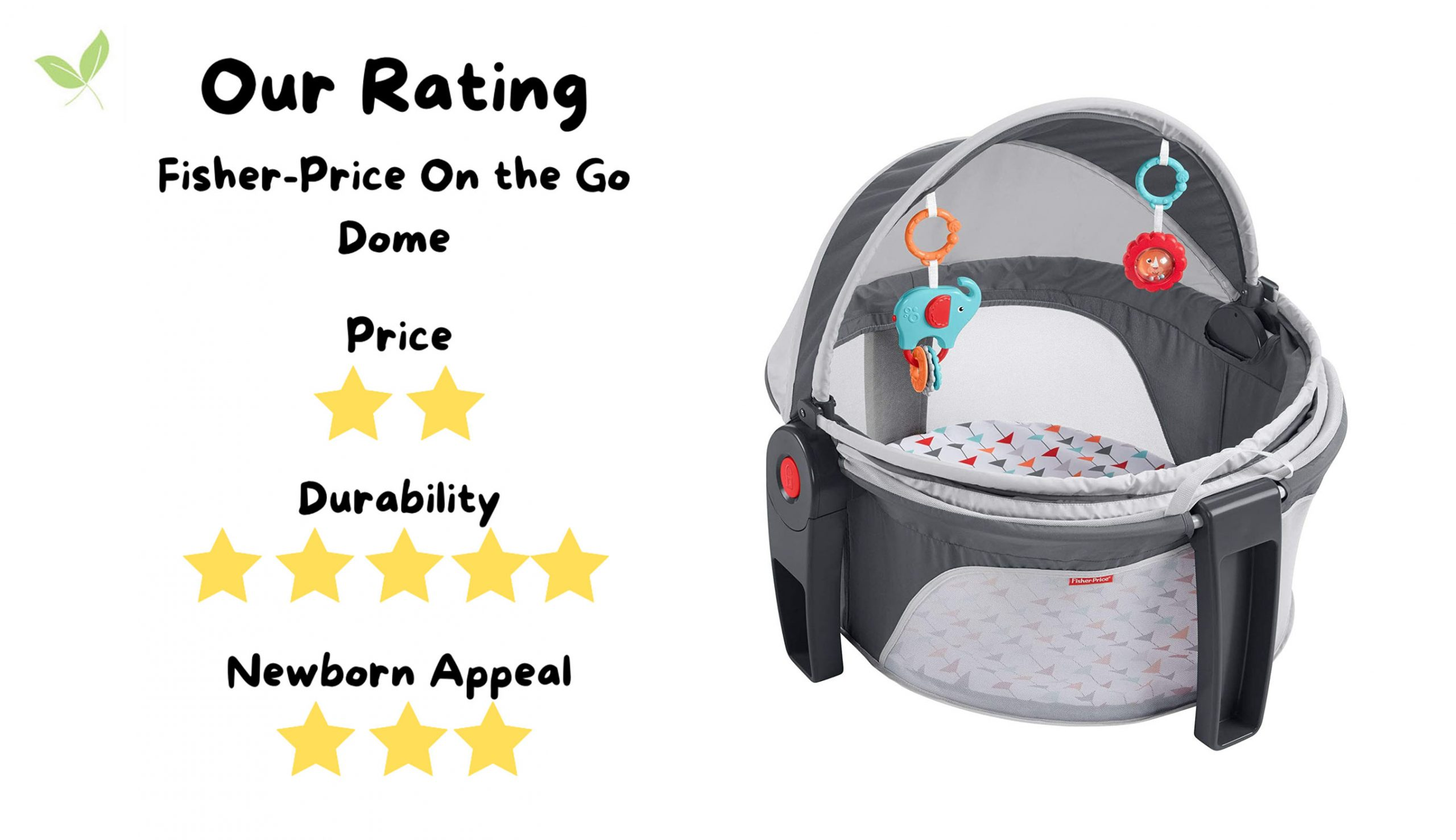 Stuff4Tots Fisher Price On The Go Dome Rating