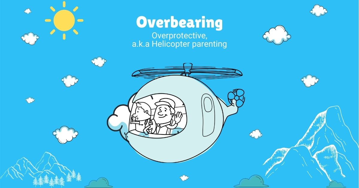 Graphic of Overbearing Parenting