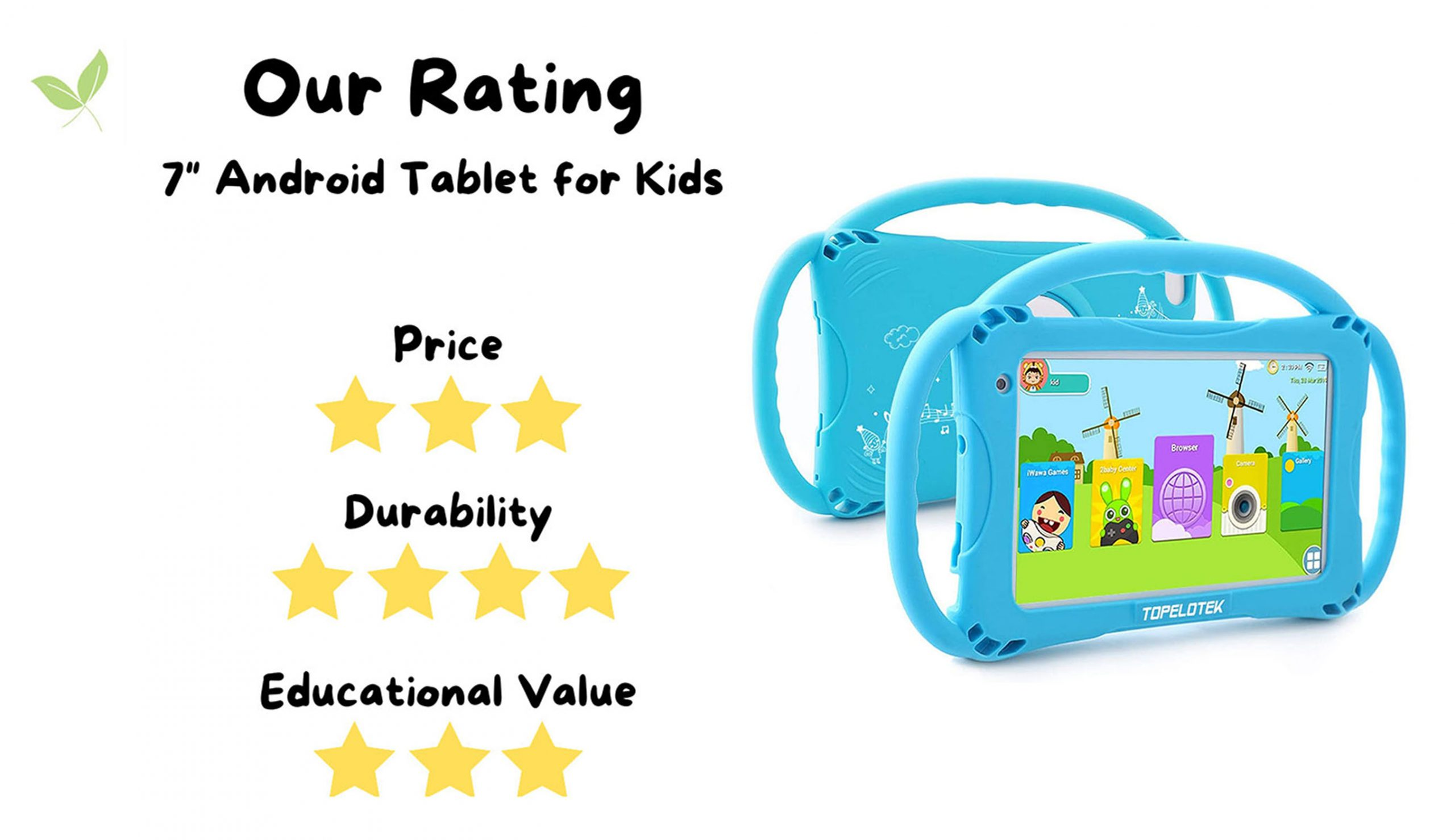 Stuff4Tots Android Tablet for kids Rating
