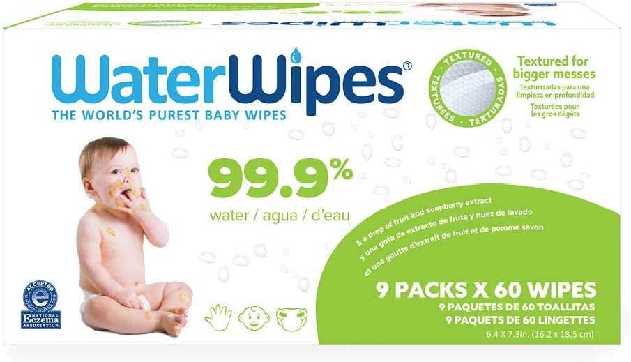 WaterWipes Textured Sensitive Baby Wipes