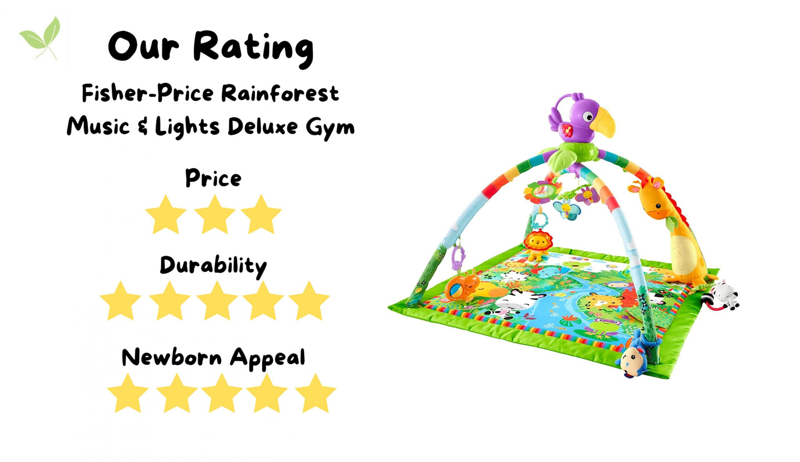 Stuff4Tots Fisher-Price Deluxe Gym Rating