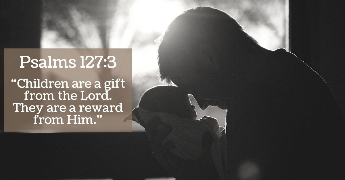 Children are a gift from the lord bible frame