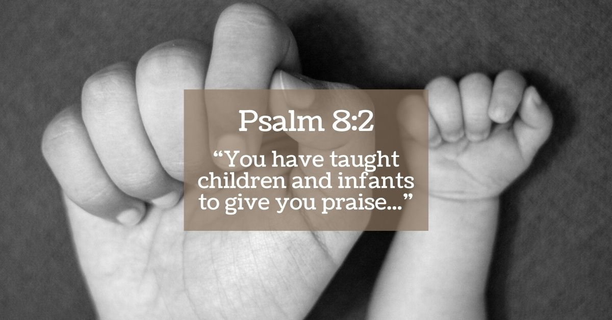 Christian wall hanging you have taught children and infants