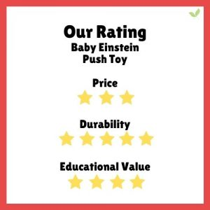 Product rating for Baby Einstein Push Toy