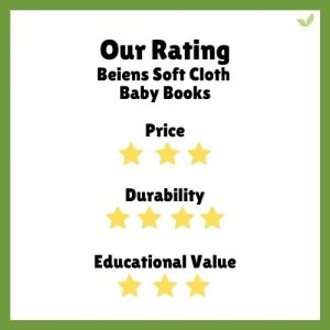 Product rating for Beiens Soft Baby Cloth Books