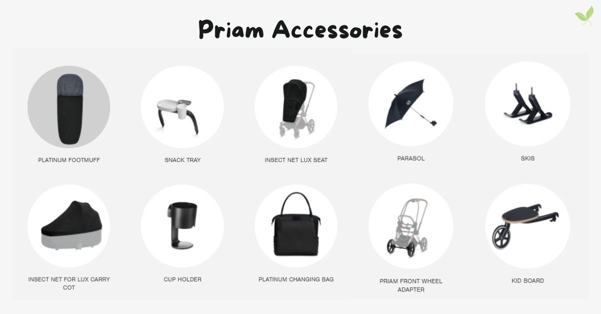 Product image of Cybex Priam Accessories