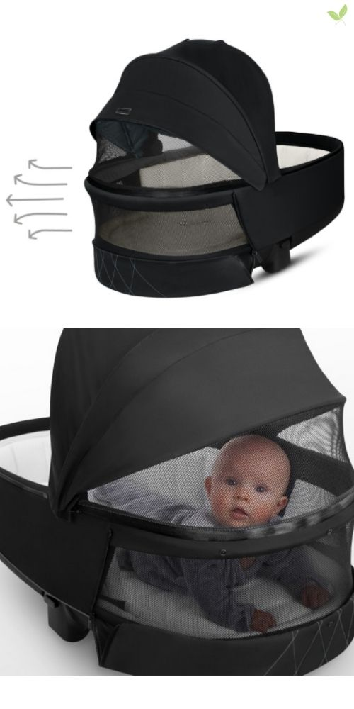 Product features of the Cybex Priam Lux Carry Cot