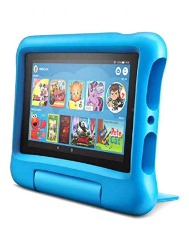 Image of Blue Amazon Fire 7 Tablet