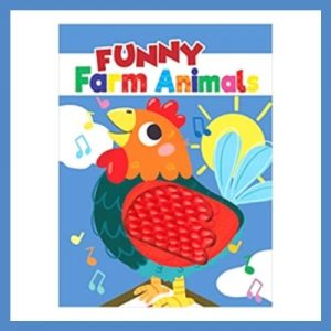 Product image of Funny Farm Animals Soft Baby Cloth Book