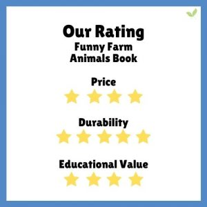 Product rating for Funny Farm Animals book