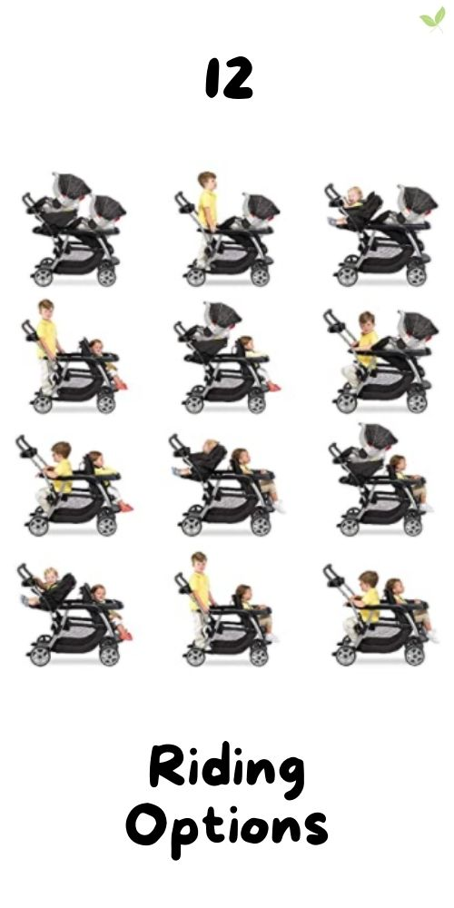12 Riding Options for the Graco Ready2Grow LX Double Stroller