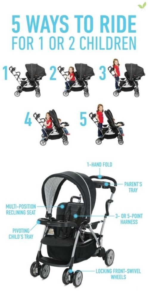 Graco Roomfor2 Stand and Ride Stroller product details