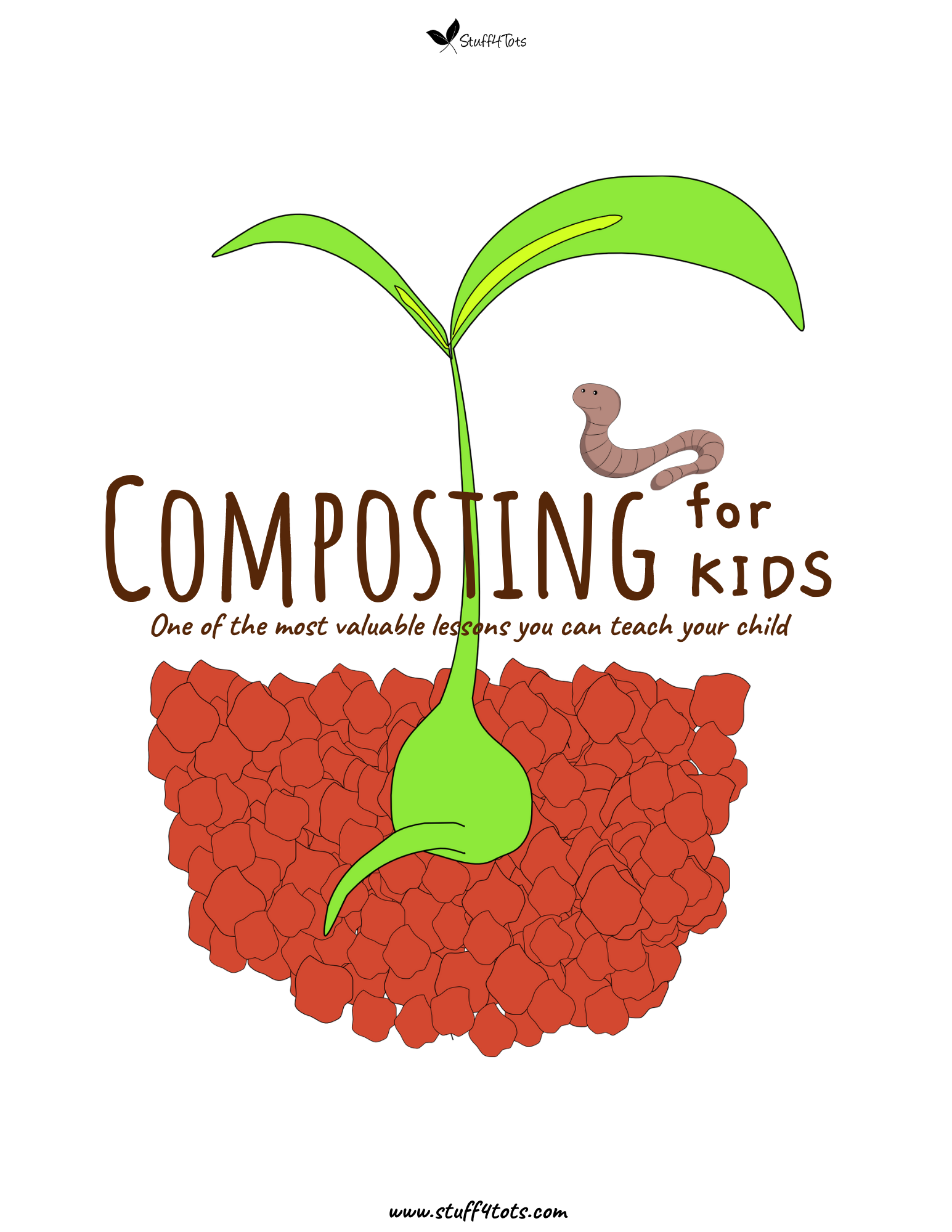 Composting for Kids activity book