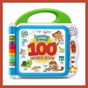Product image of LeapFrog Learning Friends 100 Words Book