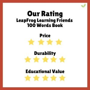 Product rating for LeapFrog Learning Friends 100 Words Book