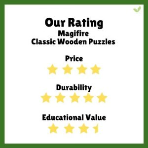 Product rating for Magifire Classic Wooden Puzzles