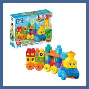 Product image of Mega Bloks ABC Musical Train