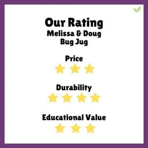 Product rating for Melissa & Doug Bug Jug