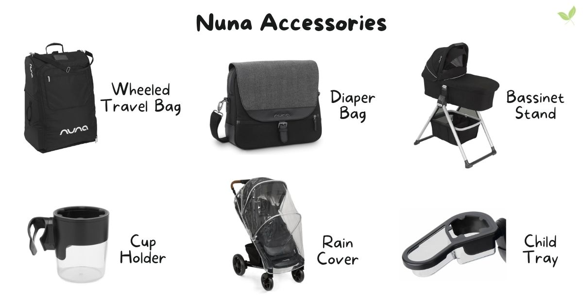 Product images of Nuna Stroller Accessories