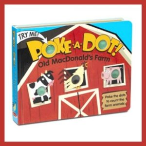 Product image of OldMacDonald's Poke A Dot book
