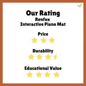 Product rating for Renfox Interactive Piano Mat