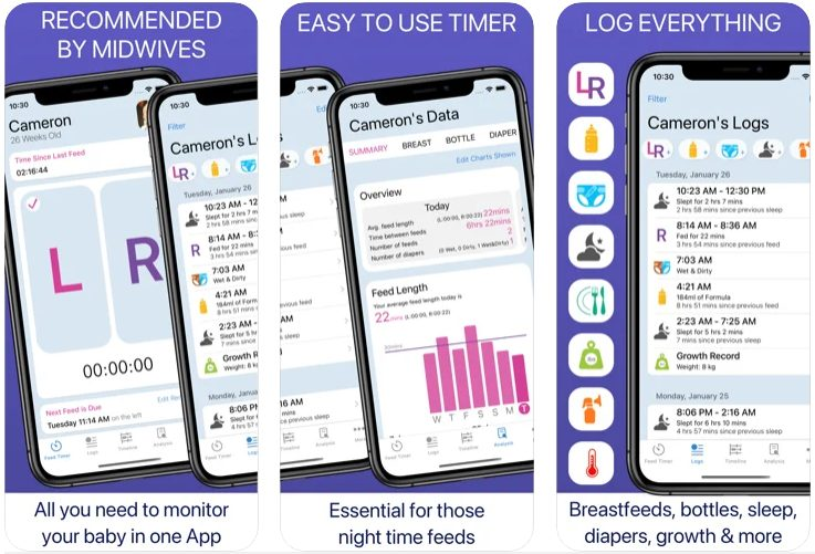 Baby Feed Timer app