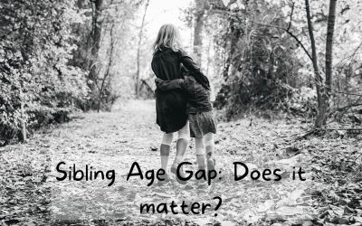 Sibling Age Gap: Does it matter?