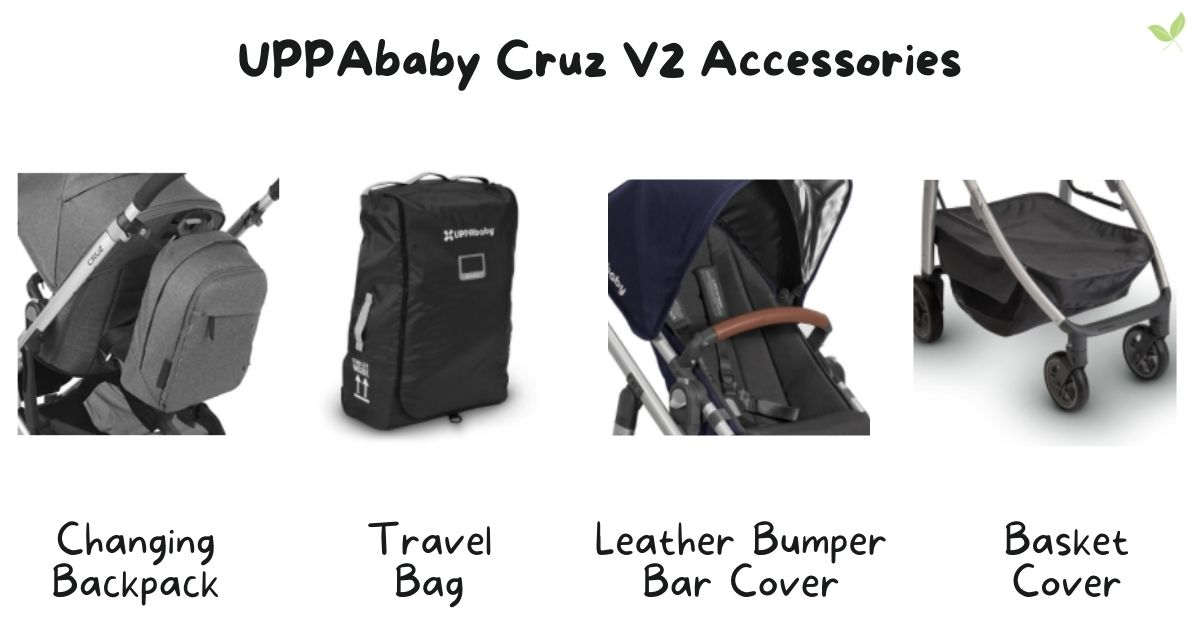 Product images of UPPAbaby Cruz V2 Stroller Accessories