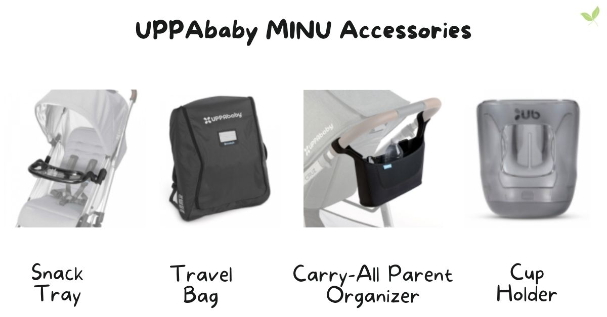 Product images of UPPAbaby MINU Accessories
