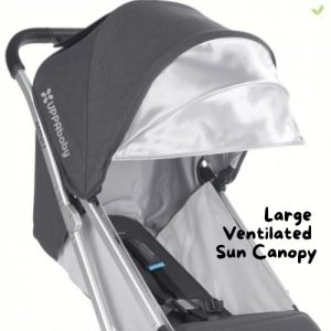 Product image of UPPAbaby MINU Stroller Large Ventilated Canopy
