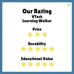 Product rating for VTech Learning Walker