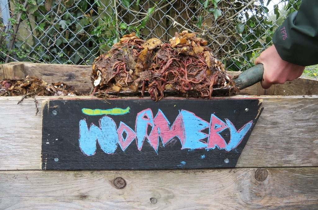 Composting For Kids: One of the most valuable lessons you can teach your child